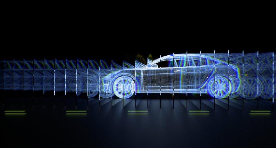 Autonomous,Driverless,Self,Driving,Vehicle,With,Lidar,Technology,3d,Illustration