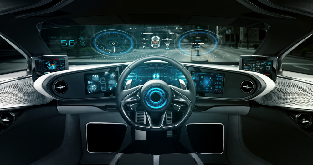 Car Windshiekd Display