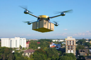 Flying Delivery Drone